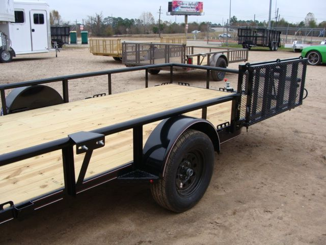 2018 Diamond C 2PSA - 14' ATV PKG All-Around Single Axle Utility Trailer CONROE, TX 17