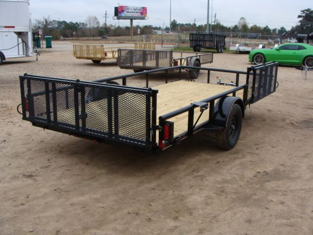 2018 Diamond C 2PSA - 14' ATV PKG All-Around Single Axle Utility Trailer CONROE, TX 18