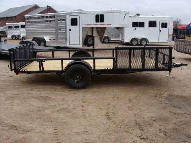 2018 Diamond C 2PSA - 14' ATV PKG All-Around Single Axle Utility Trailer CONROE, TX 19