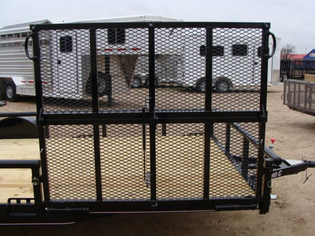 2018 Diamond C 2PSA - 14' ATV PKG All-Around Single Axle Utility Trailer CONROE, TX 20