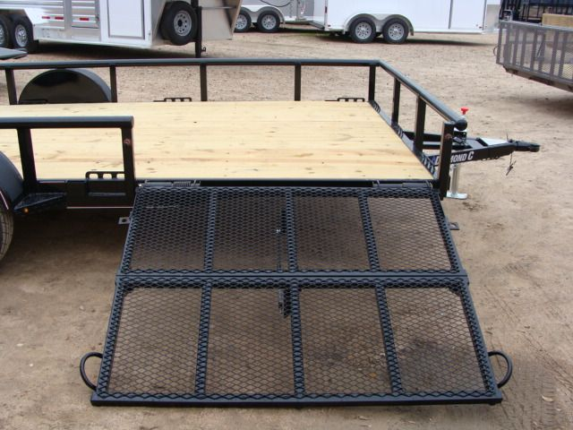 2018 Diamond C 2PSA - 14' ATV PKG All-Around Single Axle Utility Trailer CONROE, TX 21
