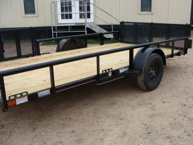 2018 Diamond C 2PSA - 14' ATV PKG All-Around Single Axle Utility Trailer CONROE, TX 5