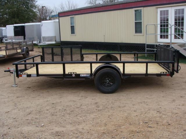 2018 Diamond C 2PSA - 14' ATV PKG All-Around Single Axle Utility Trailer CONROE, TX 7