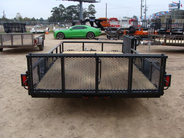 2018 Diamond C 2PSA - 14' ATV PKG All-Around Single Axle Utility Trailer CONROE, TX 12