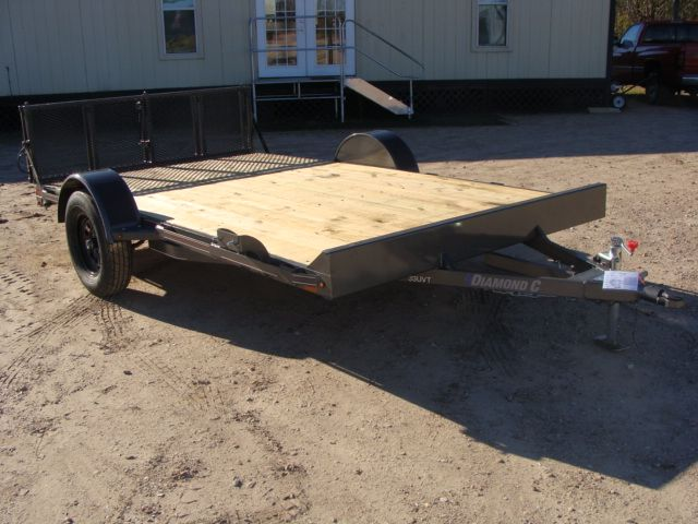 2018 Diamond C 33UVT - 12 Vehicle/Motorcycle Crossover Trailer CONROE, TX 26