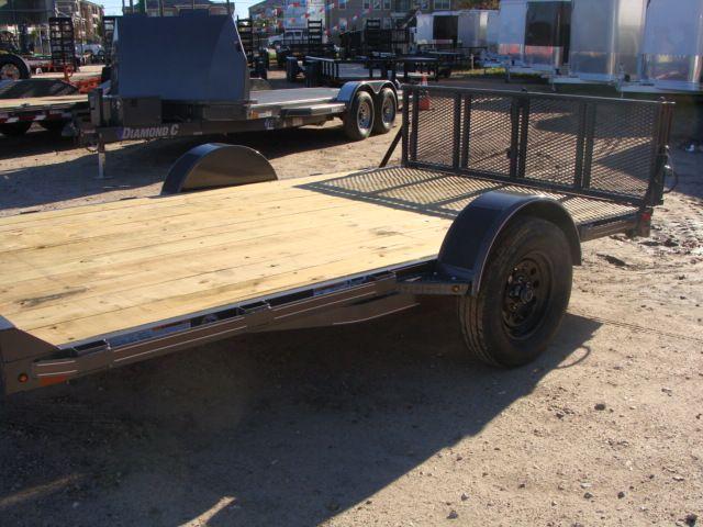 2018 Diamond C 33UVT - 12 Vehicle/Motorcycle Crossover Trailer CONROE, TX 6