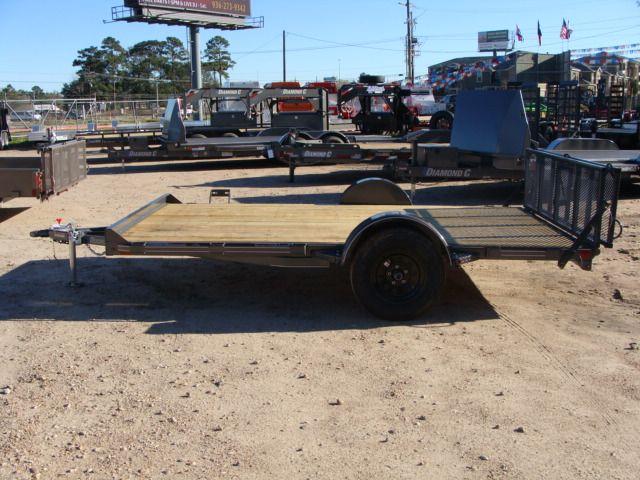 2018 Diamond C 33UVT - 12 Vehicle/Motorcycle Crossover Trailer CONROE, TX 9