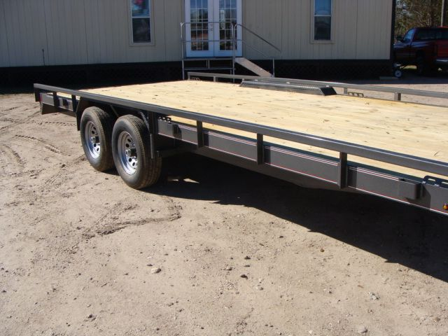 "2018 Diamond C 47MD 20' x 98"" - Mid-Deck Tandem Utility Trailer CONROE, TX 1"