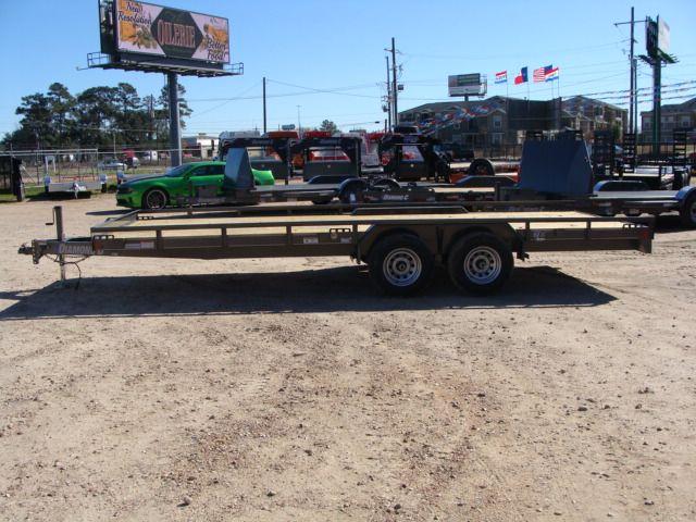 "2018 Diamond C 47MD 20' x 98"" - Mid-Deck Tandem Utility Trailer CONROE, TX 11"
