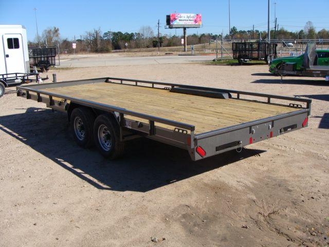 "2018 Diamond C 47MD 20' x 98"" - Mid-Deck Tandem Utility Trailer CONROE, TX 12"