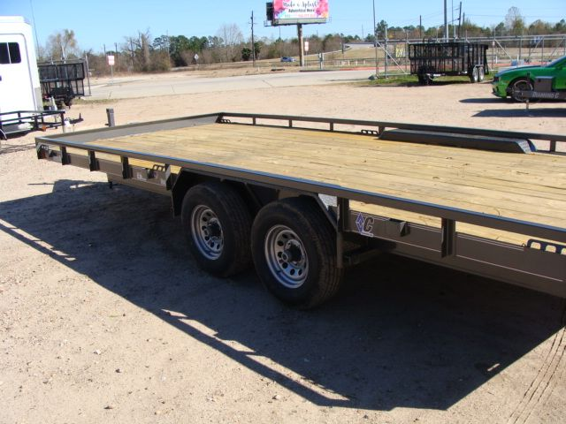 "2018 Diamond C 47MD 20' x 98"" - Mid-Deck Tandem Utility Trailer CONROE, TX 13"