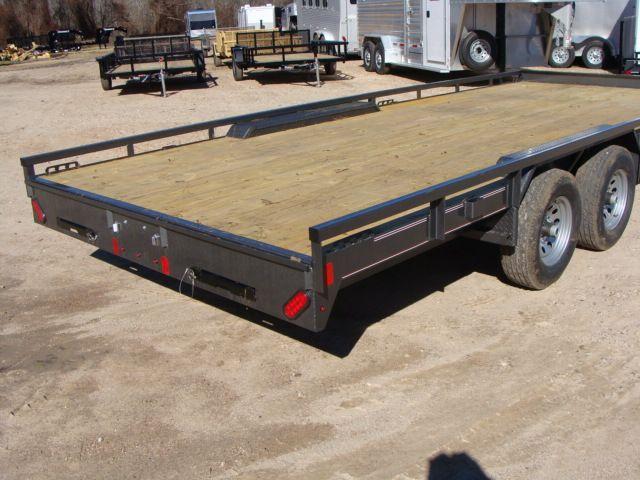 "2018 Diamond C 47MD 20' x 98"" - Mid-Deck Tandem Utility Trailer CONROE, TX 21"