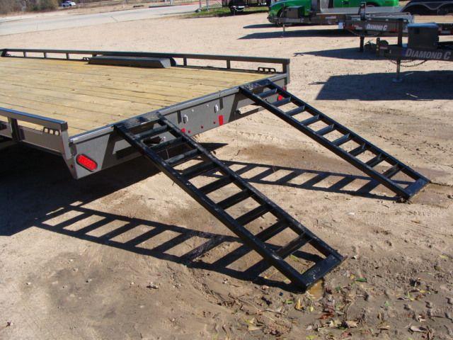 "2018 Diamond C 47MD 20' x 98"" - Mid-Deck Tandem Utility Trailer CONROE, TX 15"