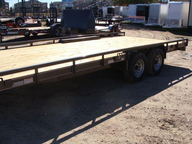 "2018 Diamond C 47MD 20' x 98"" - Mid-Deck Tandem Utility Trailer CONROE, TX 9"