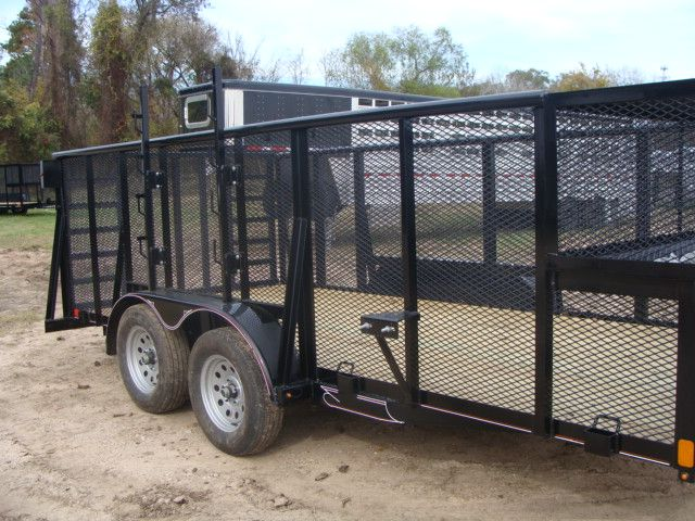 2018 Diamond C 9RLS - 16 16' BP Landscaping Trailer w/ Pipe Top Rail CONROE, TX 1
