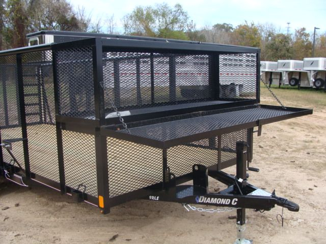 2018 Diamond C 9RLS - 16 16' BP Landscaping Trailer w/ Pipe Top Rail CONROE, TX 3