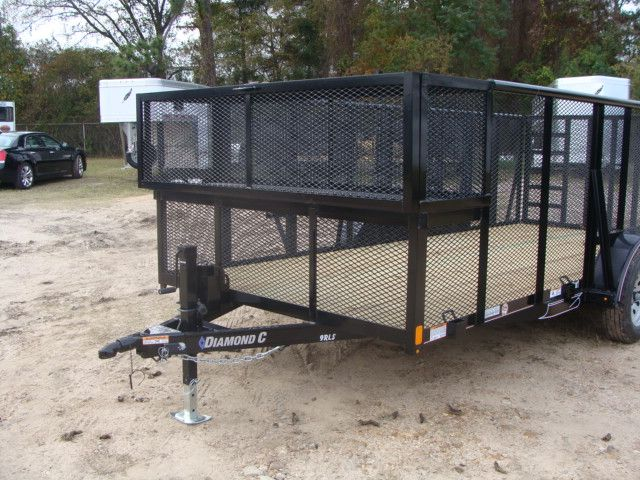 2018 Diamond C 9RLS - 16 16' BP Landscaping Trailer w/ Pipe Top Rail CONROE, TX 5