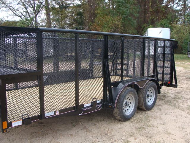 2018 Diamond C 9RLS - 16 16' BP Landscaping Trailer w/ Pipe Top Rail CONROE, TX 6