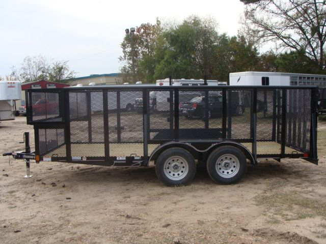 2018 Diamond C 9RLS - 16 16' BP Landscaping Trailer w/ Pipe Top Rail CONROE, TX 8