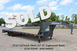 "2018 Diamond C FMAX 207 25' X 102"" CONROE, TX"