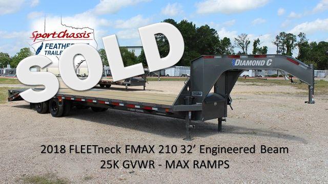 2018 Diamond C FMAX 210 32 X 102 CONROE, TX