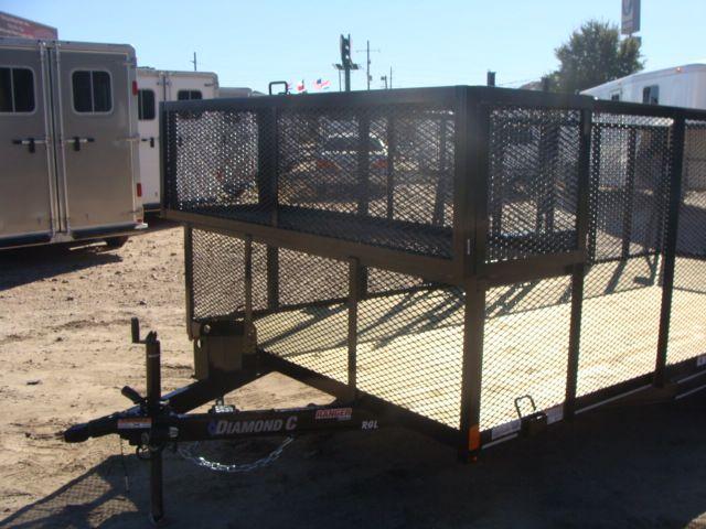 2018 Diamond C Ranger RGL - 16 16' Landscaping Trailer CONROE, TX 6