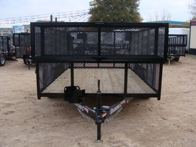 2018 Diamond C RGL - 12' LANDSCAPING CONROE, TX 7