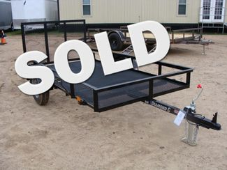 2018 Diamond C RLR - 10' Ranger Single Axle Utility Trailer CONROE, TX
