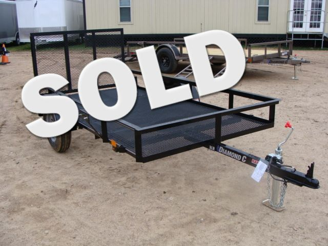 2018 Diamond C RLR - 10' Ranger Single Axle Utility Trailer CONROE, TX 0