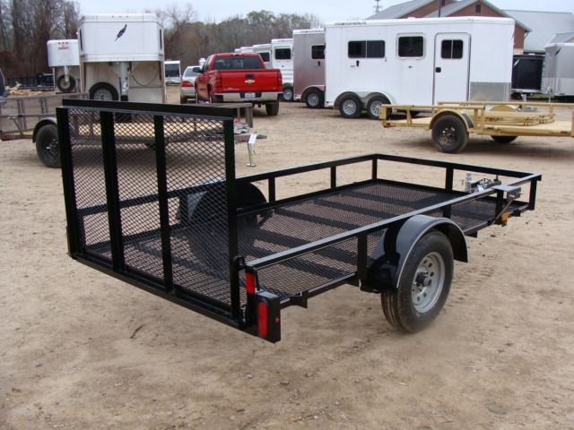 2018 Diamond C RLR - 10' Ranger Single Axle Utility Trailer CONROE, TX 18