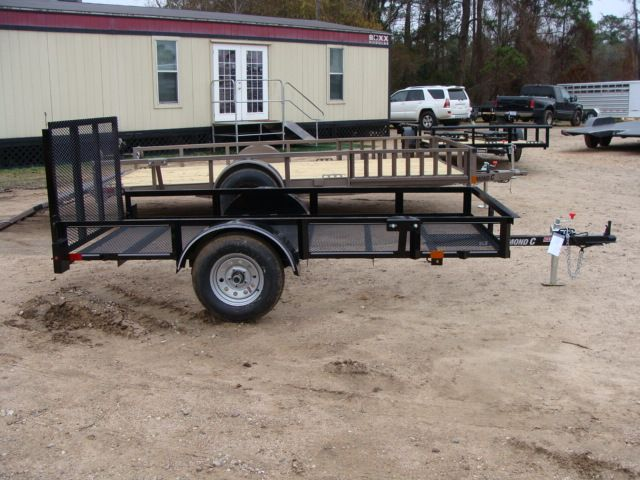 2018 Diamond C RLR - 10' Ranger Single Axle Utility Trailer CONROE, TX 19