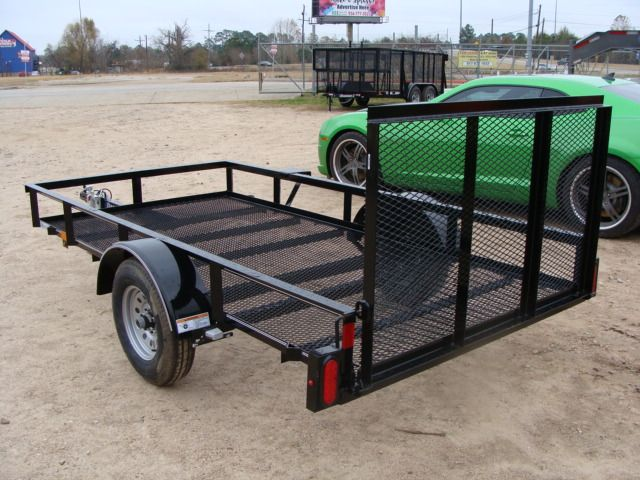 2018 Diamond C RLR - 10' Ranger Single Axle Utility Trailer CONROE, TX 8