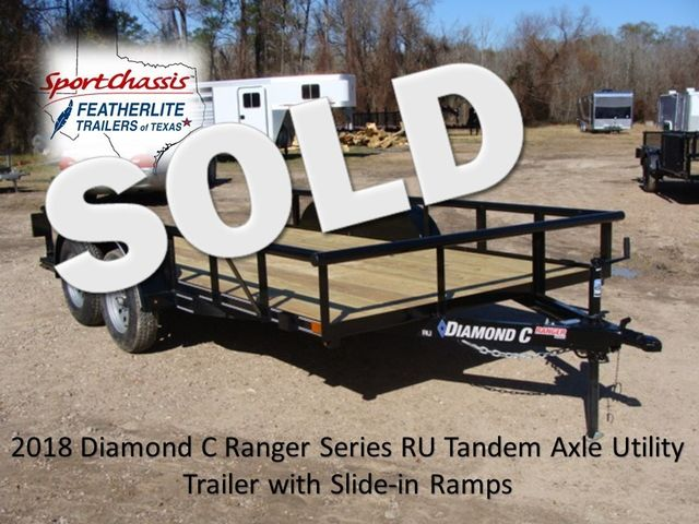 2018 Diamond C RU - 14' Ranger Tandem Axle CONROE, TX 0