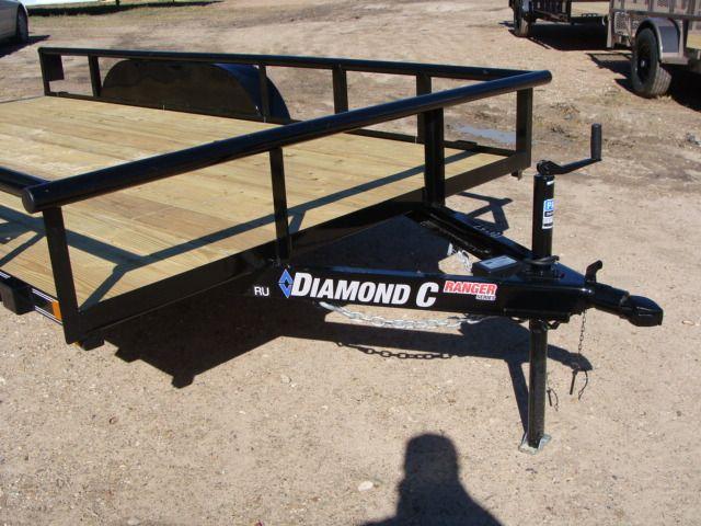 2018 Diamond C RU - 14' Ranger Tandem Axle CONROE, TX 2