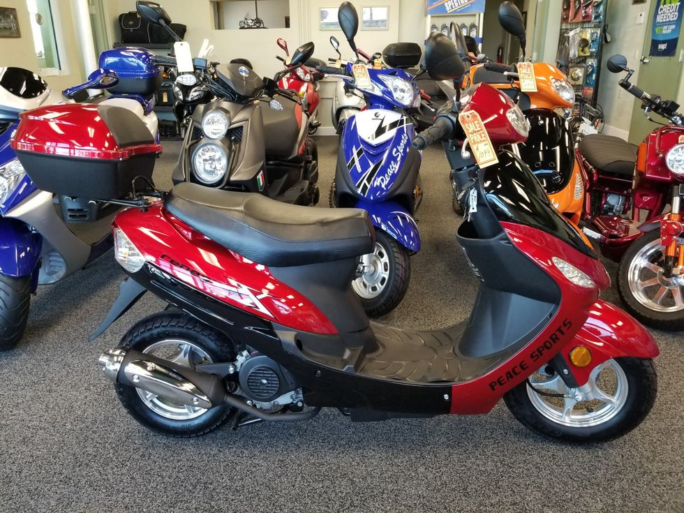 2018 Daix QT6 Scooter 49cc | Daytona Beach FL | Midtown