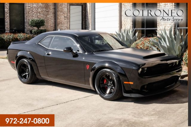 2018 Dodge Challenger SRT Demon Celebrity Owned Crate & Docs Included in Addison, TX 75001