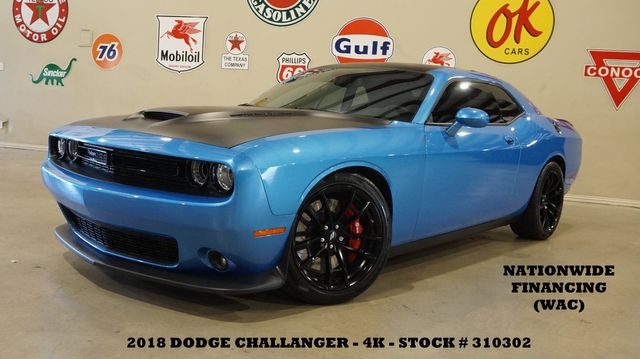 2018 Dodge Challenger T/A 392 6 SPD,WHIPPLECHARGED,NAV,HTD/COOL LTH,4K in Carrollton, TX 75006