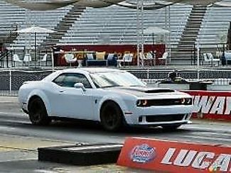 2018 Dodge Challenger SRT Demon: 2018 White SRT Demon! Fastest production car ever built 1 of 3000 to be sold.
