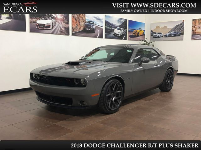 2018 Dodge Challenger R/T Plus Shaker