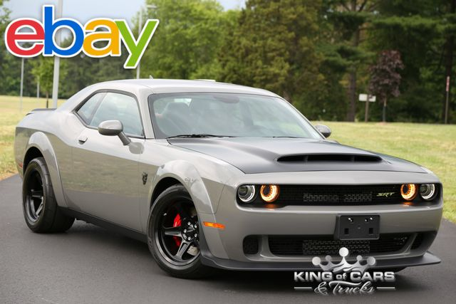2018 Dodge Challenger Srt DEMON 840HP DESTROYER GREY 739 MILES FREE SHIPPING