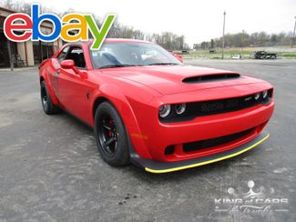 2018 Dodge Challenger Srt Demon 840HP TOR RED 15 MILES BRAND NEW in Woodbury New Jersey, 08096