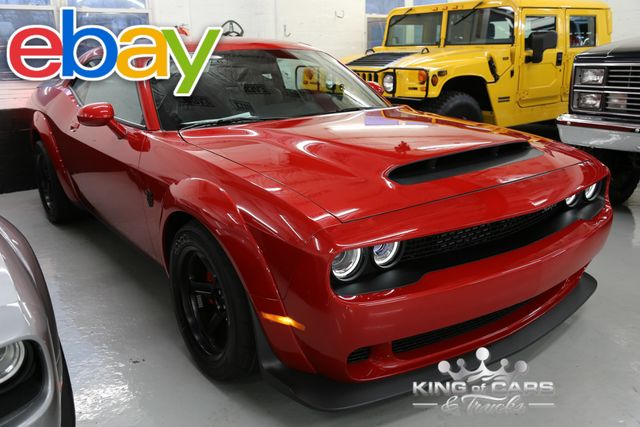 2018 Dodge Challenger 840HP SRT Demon RARE ONLY 3000 IN US!!