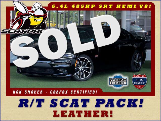 2018 Dodge Charger R/T Scat Pack - 6.4L 485 HP SRT HEMI V8 - LEATHER! Mooresville , NC 0