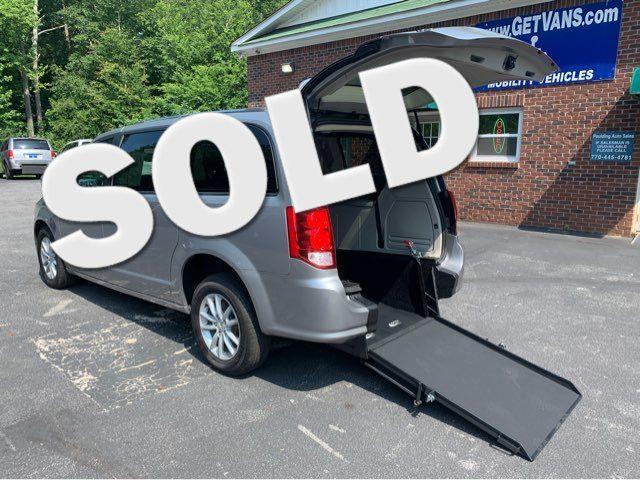 2018 Dodge Grand Caravan SXT handicap wheelchair accessible rear entry in Dallas, Georgia 30132