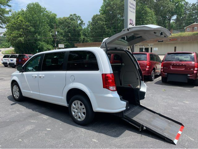 2018 Dodge Grand Caravan Handicap wheelchair accessible rear entry