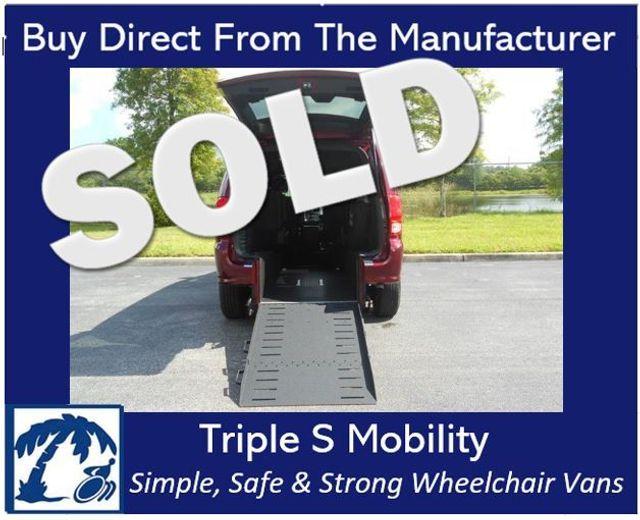 2018 Dodge Grand Caravan Gt Wheelchair Van Handicap Ramp Van DEPOSIT