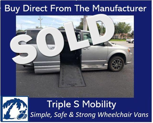 2018 Dodge Grand Caravan Gt Wheelchair Van Handicap Ramp Van