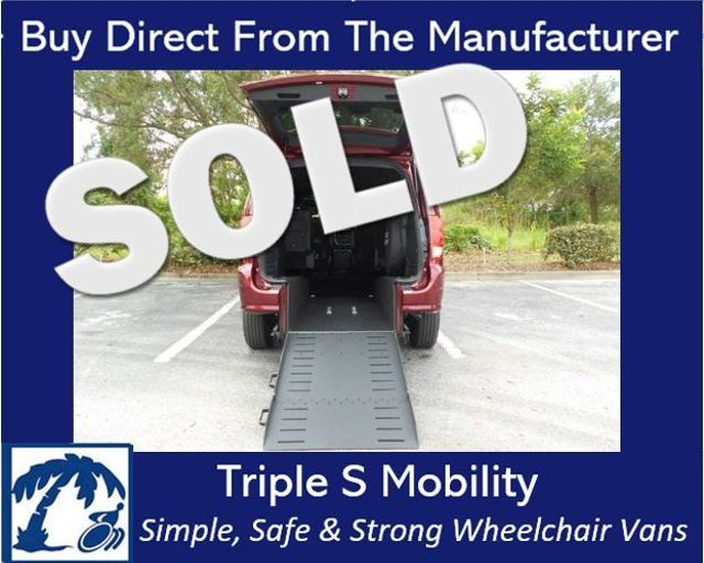 2018 Dodge Grand Caravan Gt Wheelchair Van Pinellas Park, Florida
