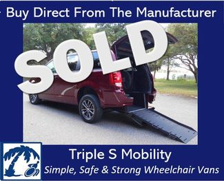2018 Dodge Grand Caravan Gt Wheelchair Van Handicap Ramp Van DEPOSIT Pinellas Park, Florida
