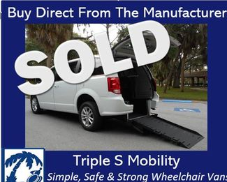 2018 Dodge Grand Caravan Sxt Wheelchair Van Handicap Ramp Van Pinellas Park, Florida